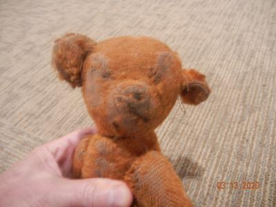 1930ish Somerset PA area Teddy Bear face