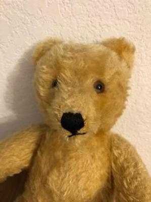 face of 1950's Teddy Bear