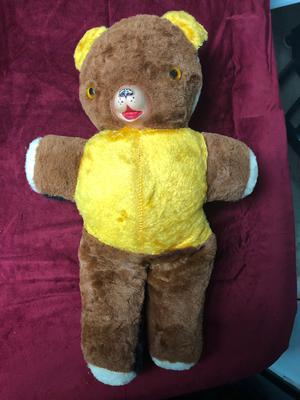 brown and yellow teddy bear