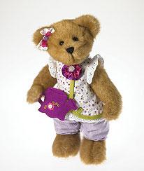 Lila C Gardenbeary Boyds bear