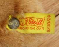 Steiff Label
