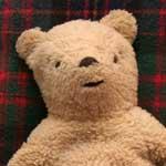 Old Winnie the pooh bear