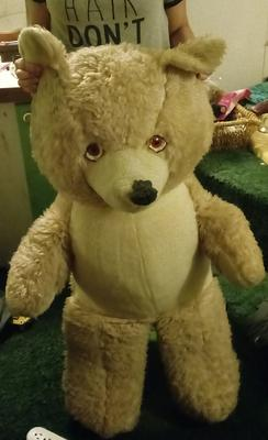 1960's teddy bear