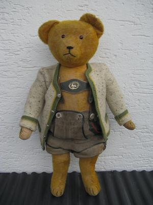 German Teddy Bear in clothes