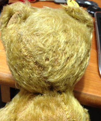 back of head stitching