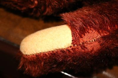 Teddy Bear Foot