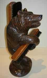 Black Forest Bear Brush