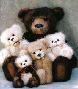 Brigit Charles Artist Bears