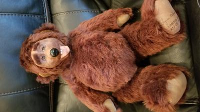 Brown toy teddy bear