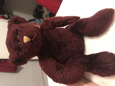 Burgundy Teddy Bear