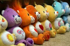 Care Bear collectibles