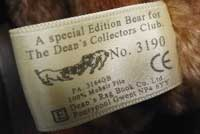 Deans label