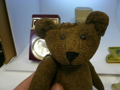 hello old teddy bear