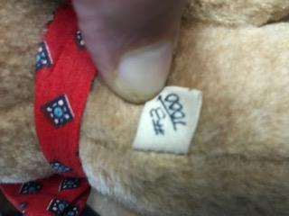 Gae Sharp bear label