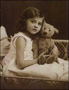 Girl and Teddy Bear