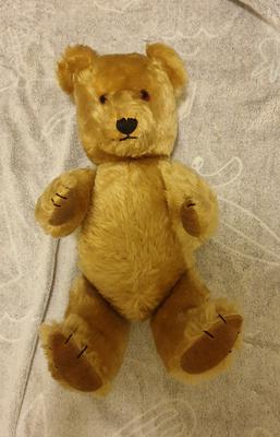 old musical Teddy bear