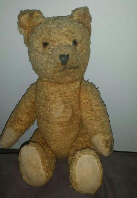 Old Yellow Teddy Bear