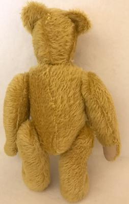 golden teddy bear back view