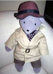 Humphrey Bogart Teddy Bear
