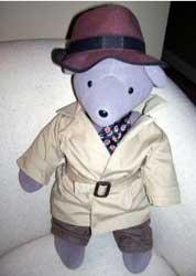 Humphrey Bogart Teddy Bear
