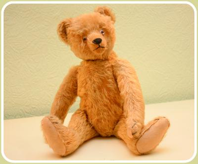Bing or Steiff Teddy - either way beautiful