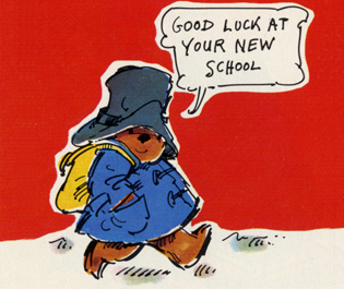 Ivor wood Paddington Bear