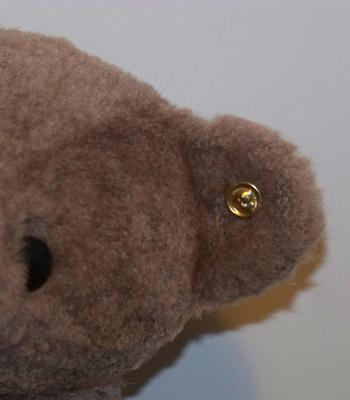 button in bear ear