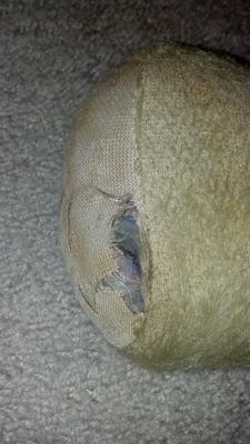 Stuffing inside of foot