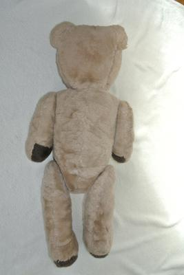 Back view of large teddy bear