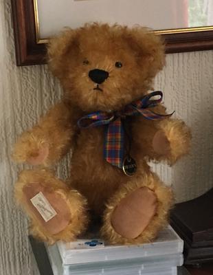 Eric The Deans Teddy Bear