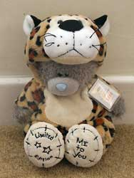 Leopard Costume tatty bear