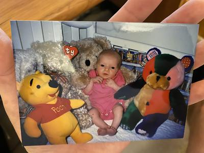 childhood teddy bears