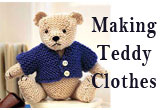 Making Teddy Bear Clothes