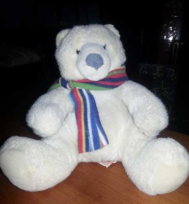 McKinley my Russ Berrie Bear