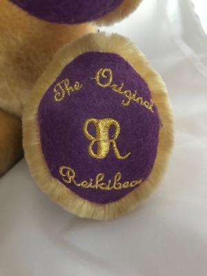 teddy bear foot label