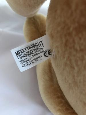 Merrythought label