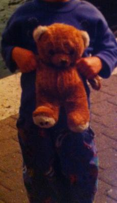possibly a mothercare teddy bear