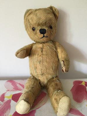 My childhood teddy bear