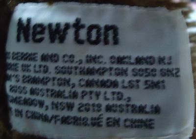 Newton Bear label