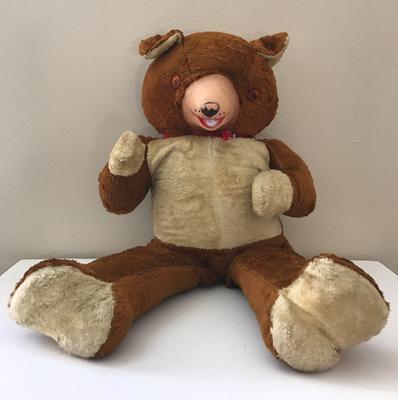 big feet teddy bear