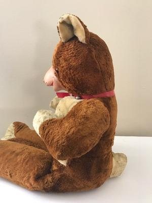 side view of large toy bear