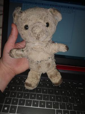 Very tatty teddy bear