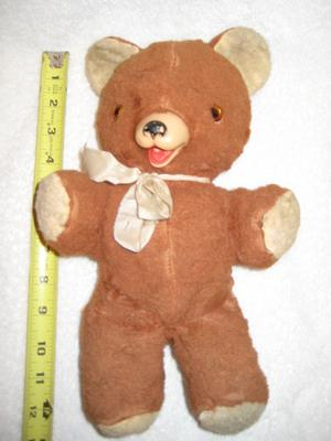 Front view of my teddy bear
