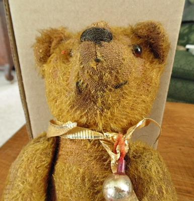 face of pre ww1 teddy bear