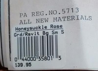 Roosevelt Bear label
