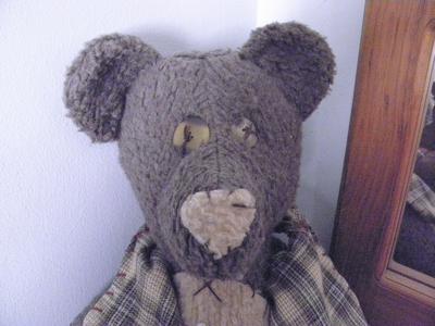 Rosie the old teddy bear