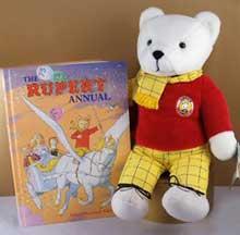 Rupert The Bear and Book