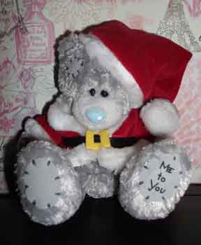 Santa Tatty Bear