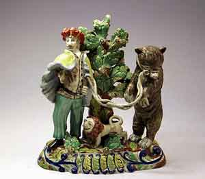 Dancing Bear Figurine