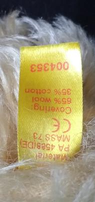 Number hidden by fur (possibly serial): 101040302640